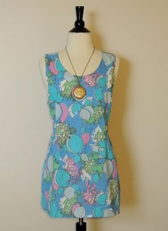 Vintage 60s Top Mini with Open Back Must see the back. $24.00, via Etsy.