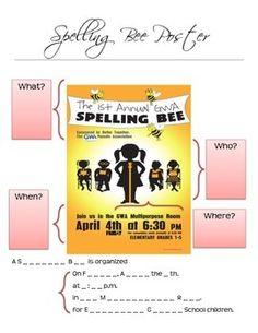 Spelling Bee Contest - Worksheet Bundle by Mrs Recht's Virtual Classroom   Teachers Pay Teachers