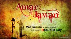 Amar Jawan Republic Day Wallpaper 2013 @webgranth