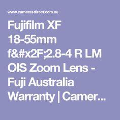 Fujifilm XF 18-55mm f/2.8-4 R LM OIS Zoom Lens - Fuji Australia Warranty | Cameras Direct Australia
