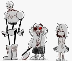 Horrortale I've never seen this AU before, but it looks and sounds cool!
