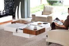 Coffee Table with 4 Sliding Storage Drawers White & Natural Walnut Color Combo Nlive Design http://www.amazon.com/dp/B005U3BEZC/ref=cm_sw_r_pi_dp_cdPcxb1ZMBTV8