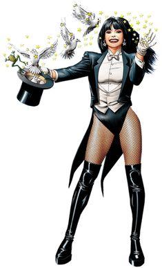 Zatanna Zatara Affiliation Ligue de justice d'Amérique Magicienne  Métier Magicienne  Apparus dans Smallville Née en 1964 Ennemie juré Allura