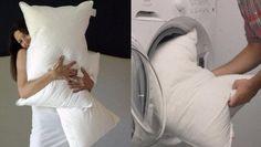 Come Lavare i Cuscini di Piume White Dress
