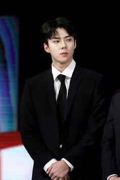 SEHUN at the 2017 Korean Popular Culture and Arts Award