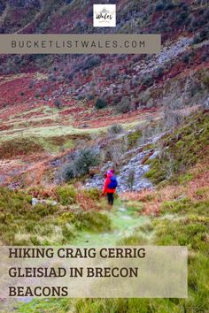 Hiking Craig Cerrig Gleisiad in the Brecon Beacons is a wonderful way to connect with nature and explore a quieter part of the popular Brecon Beacons National Park. The Craig Cerrig Gleisiad circular ridge and valley walk is a roughly looped walk with the option of taking a short detour to the trig point on Fan Frynych. Wales hiking | outdoor adventure UK | UK hiking | Wales travel | hiking routes | local walks Hiking Routes, Hiking Europe, Go Hiking, Hiking Trails, Scotland Travel, Ireland Travel, Best Places To Travel, Cool Places To Visit, Best Of Wales