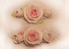 Shabby Chic shabby chic shabby chic handmade roses