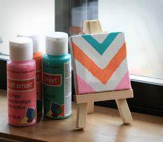 mini+canvas+ideas | Fabulous Friday: 11 Mini Canvas Art Ideas