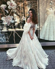 Boho wedding dress HILORI beach wedding dress bohemian