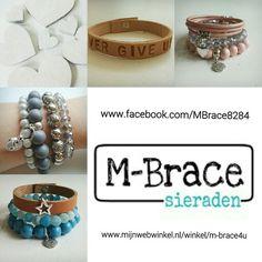 Neem eens een kijkje op onze FB pagina of surf naar onze webwinkel voor leuke, bijzondere, trendy en betaalbare sieraden! ♡