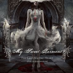 """Last beating heart"" Album Cover Marcela Bolivar"