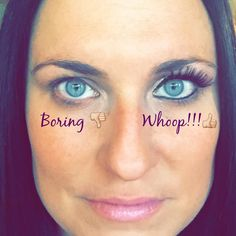 No one should be boring...ever!! I'll take the Whoop side anyway....thanks Younique!     www.fancymascaragirl.com