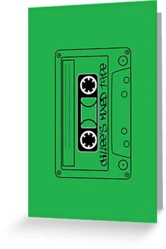 """""""Chillee's Mixed Tape 2 by Chillee Wilson"""" Greeting Cards & Postcards by ChilleeWilson 