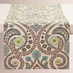 Treetop Table Runner Wood from Cost Plus World Market's New Woodland Retreat Collection >> #WorldMarket Home Decor Ideas