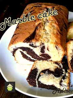 Easy Marble Cake Soft, moist and of course delicious! #easyrecipe #marble #cake