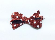 Check out this item in my Etsy shop https://www.etsy.com/uk/listing/559070668/red-christmas-hair-bow-red-polka-dot-bow