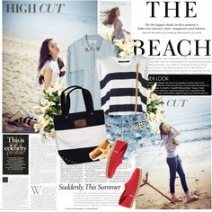 """""""The Beach."""" by kittykathearts on Polyvore"""