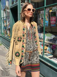 World Country Magazines: Model @ Roksana Manowicz - Glamour France, August 2015