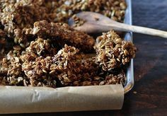 If you want big chunks/clusters of granola for snacking...