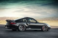 Porsche 911 996 Turbo. I have this as my background so I keep my eye on the prize.