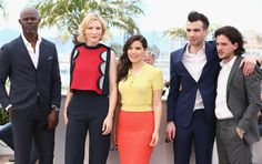 Kit Harington Photos Photos - (L-R) Actors Djimon Hounsou, Cate Blanchett,America Ferrera, Jay Baruchel and Kit Harington attend the 'How To Train Your Dragon 2' photocall during the 67th Annual Cannes Film Festival on May 16, 2014 in Cannes, France. - 'How to Train Your Dragon 2' Photo Call