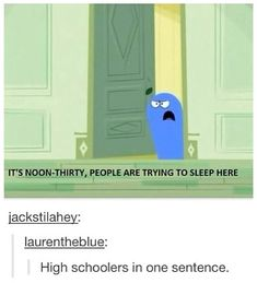 Haha love Bloo x) Tumblr Posts, My Tumblr, Tumblr Funny, Funny Quotes, Funny Memes, Jokes, Cartoon Quotes, Epic Quotes, Movie Quotes