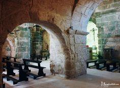 Les arcade de l'Eglise san giovanni di sinis en #Sardaigne