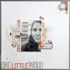 One Little Word - Scrapbook.com