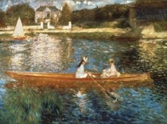 'Boating on the Seine' by Renoir  Google Image Result for http://www.canvasreplicas.com/images/Boating%20on%20the%20Seine%20Pierre%20Auguste%20Renoir.jpg