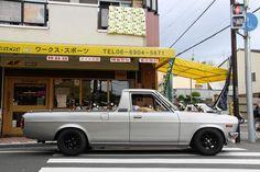 Datsun 1200 pick up sunny truck sanitora Subaru Wagon, Datsun Car, Nissan Sunny, Mini Trucks, Japan Cars, Jdm Cars, Amazing Cars, Custom Cars, Cars And Motorcycles