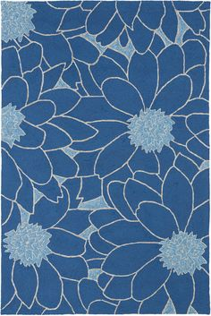 Kaleen Home and Porch 2041 (Blue)
