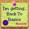 A great challenge to help you get back to the basics of weight loss! #weightwatchers #wwbtb