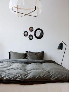 Grasshopper Floor light as bedside lamp