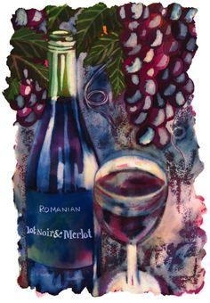 Romanian Red Wine