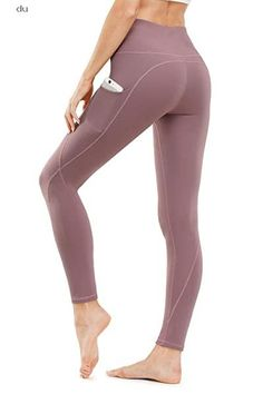 TUNGLUNG Pockets Control Workout Leggings