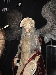 Angel of Death from 'Hellboy II' by Spectral Motion. Museum at Monsterpalooza, 2012.
