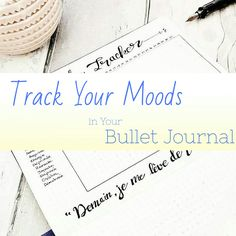 Or Bujo Your Way Through Your Moods!  These great spreads will show you ways to help you monitor your emotional well being. Extremely u...