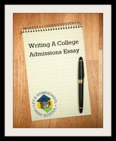 College board admissions essay