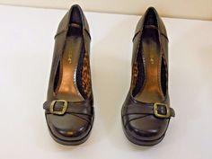Sweet 5.5.4 Pumps  With Buckle Detailing SZ 6M...Color Brown/Bronze #Sweet554 #PumpsClassics #Clubwear