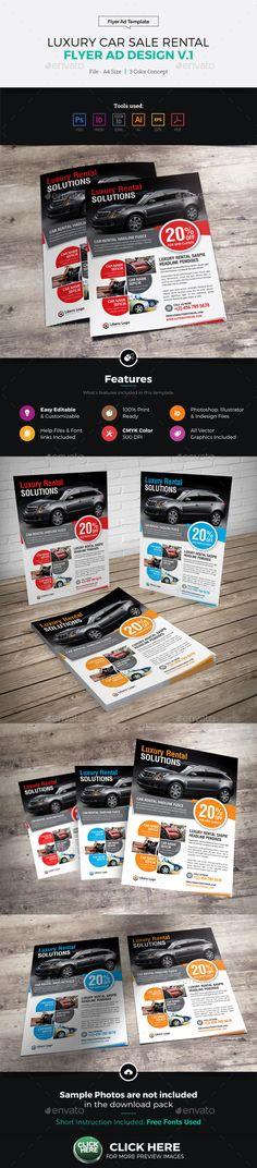Mega Car Sale Flyer Template DtoI Marketing! Pinterest - car sale flyer