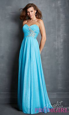 Night Moves 7039 Strapless Dress at PromGirl.com $ 99