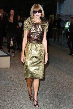 Анна Винтур – фото в платье