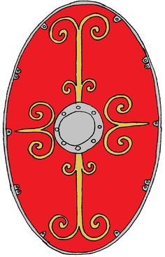 Roman Shield, Roman Armor, Roman Legion, Age Of Empires, Roman Soldiers, Roman Fashion, Ancient Rome, Roman Empire, Art History