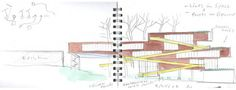 Campbell Sports Center in New York City by Steven Holl