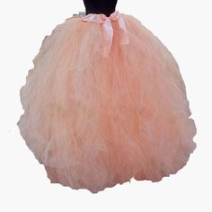 2017 Puffy Tulle Women Long Skirts Custom Made Tutu Skirts With Sashes Floor Length Maxi Skirts For Ball Gown Party Masquerade Dresses, Long Skirts For Women, Tutu Skirts, Cheap Skirts, Party Skirt, Sash, Custom Made, Ball Gowns, Floor