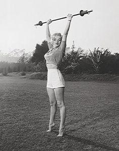 Marilyn Workin' It Bettmann Archive Fine Art Print Poster