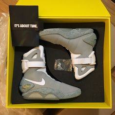 2011 Nike Air Mag Marty McFly Back to The Future II BTTF Sneakers Size 10   eBay