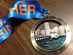 Richmond Marathon medal 2013
