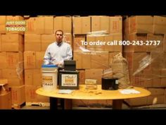 Just Good Tobacco Storage - To order call 800-243-2737800-243-2737 - YouTube