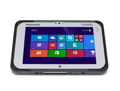 FZ-M1 Panasonic Toughpad Configurable powered by Windows® 10 Pro and a 6th generation Intel® Core™ m5 vPro™ processor, the Toughpad FZ-M1 offers even better performance than the previous model and is equipped with the industry's broadest range of configuration options for maximum flexibility. Its fully rugged, sealed design is certified to meet MIL-STD-810G and IP65 specifications and resistance to drops (up to five feet), water, dust and other elements.